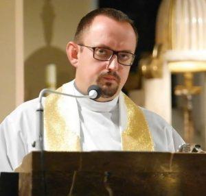Ksiądz mieszkaniec Domu Diecezjalnego TABOR