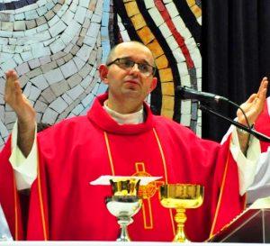Ksiądz wicedyrektor Domu Diecezjalnego TABOR