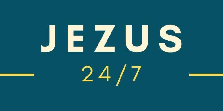 """Informacja o adoracji """"Jezus 24/7"""" w związku z RODO"""
