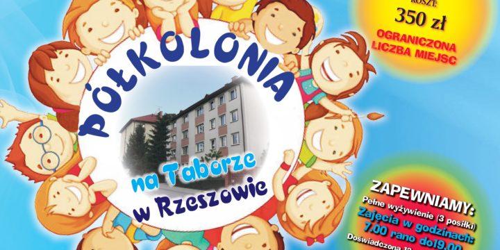 Zapisy na Półkolonie na Taborze w Rzeszowie!