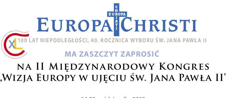 II Międzynarodowy Kongres Ruchu Europa Christi w Rzeszowie