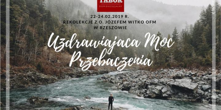 Lutowe rekolekcje z o. Józefem Witko OFM w Rzeszowie