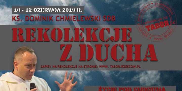 Czerwcowe rekolekcje z ks. Dominikiem Chmielewskim SDB