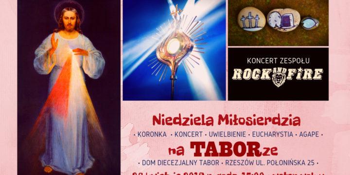 2. Niedziela Miłosierdzia na TABORze!